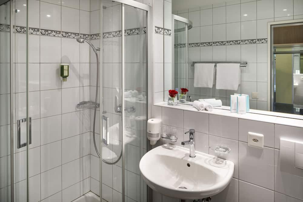 デュープレックス バルコニー ガーデンビュー - バスルーム