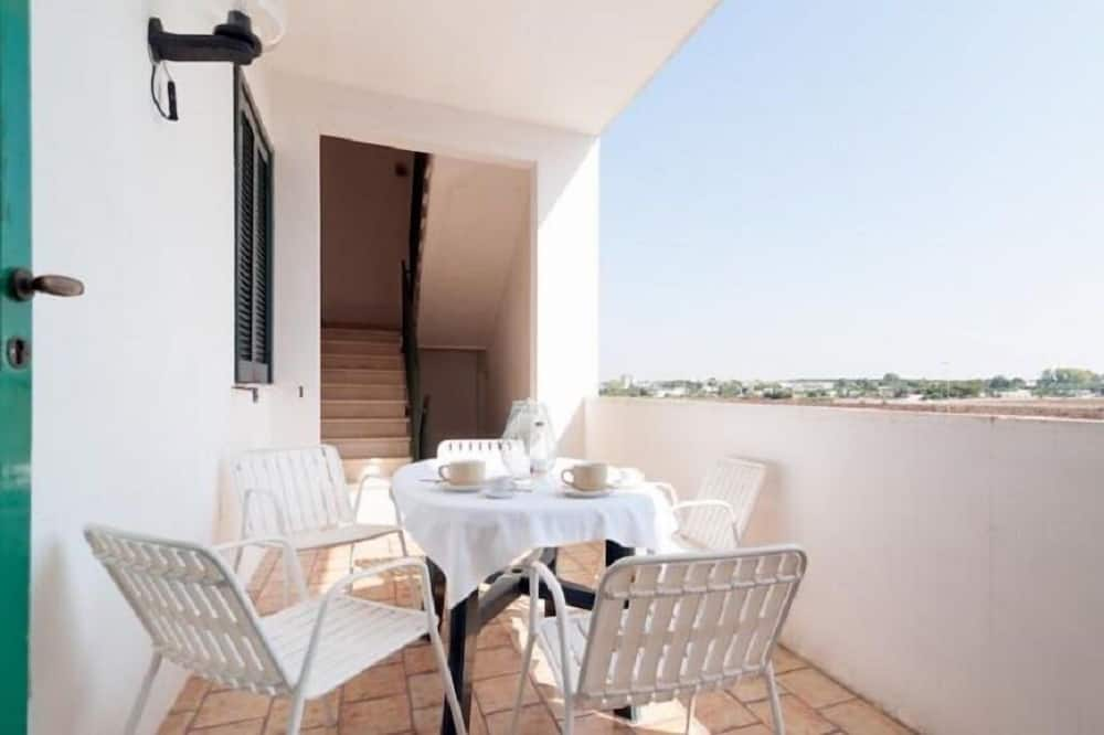 Appartement, 2 chambres, terrasse, vue mer (Le Vele 4, Upper floor) - Balcon
