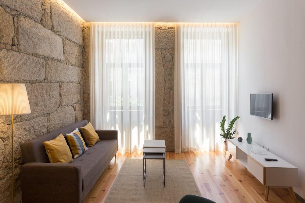 Superior Apartment, 1 Bedroom - Ruang Tamu