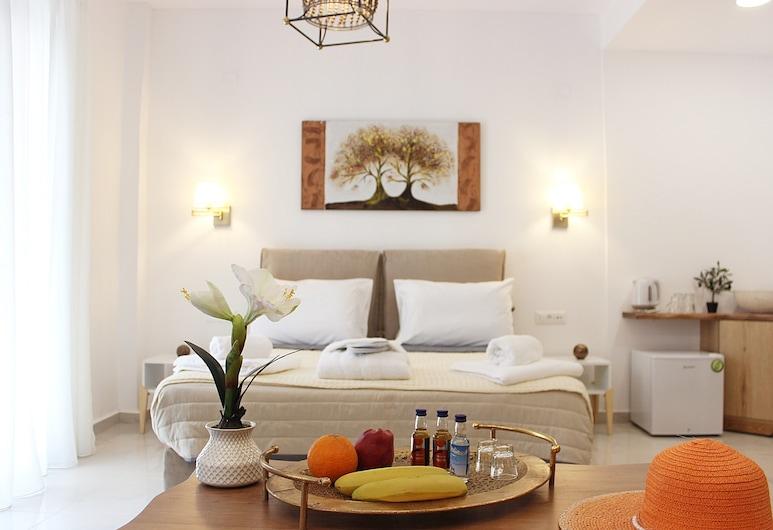 Deluxe Suites, Χανιά, Σουίτα, Θέα στη Θάλασσα, Δωμάτιο επισκεπτών