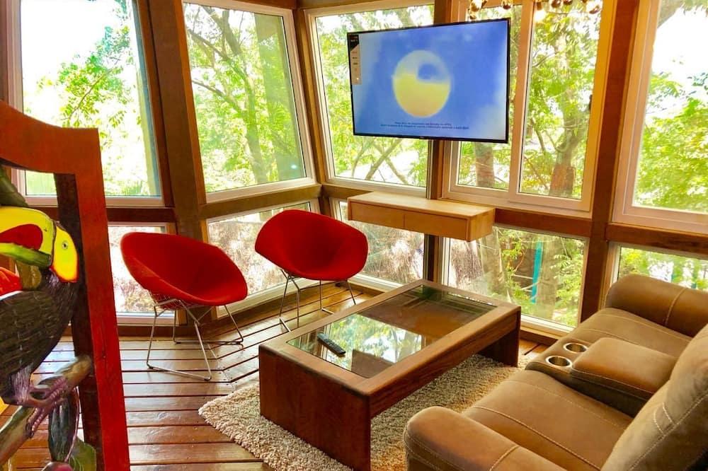 Contemporary Style House  - סלון