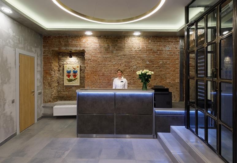 Custos Hotel Petrovsky, Moscow, Reception