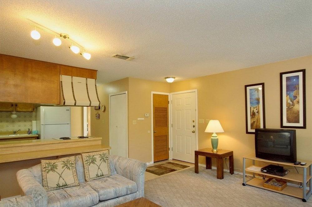 Appartement, 2 slaapkamers, keuken, Uitzicht op rivier - Woonruimte
