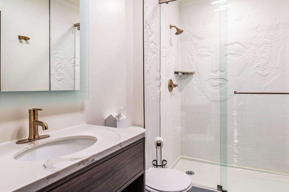 Obiteljska soba, Više kreveta, pristup za osobe s invalidnošću - Kupaonica