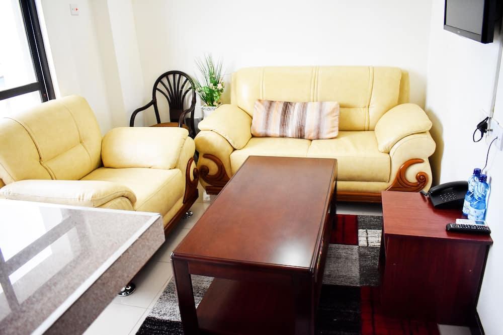 Apartamento, 2 Quartos - Refeições no Quarto