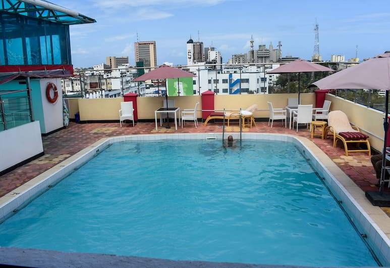 Sheratton Regency Hotel, Mombasa, Sisebassein