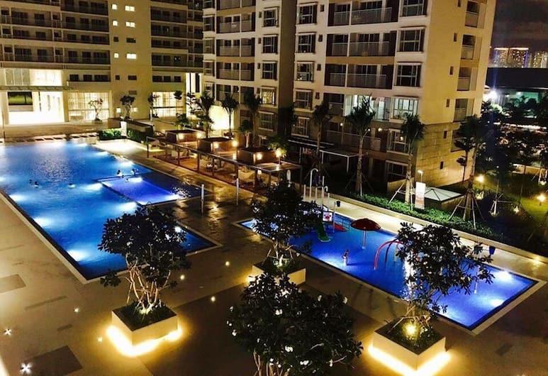 ジェニファーズ アパート ラグジュアリー 2 ベッドルーム 7th, ホーチミン, 屋外プール