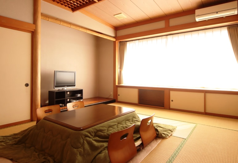 Tuji Wakuwaku Land Minshuku Chaya, Уозу, Традиционный номер, для некурящих (Japanese Style 5 guests), Номер