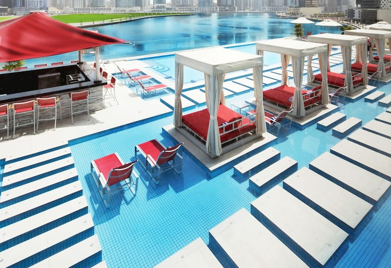 Canal Central Hotel, Dubai, Outdoor Pool