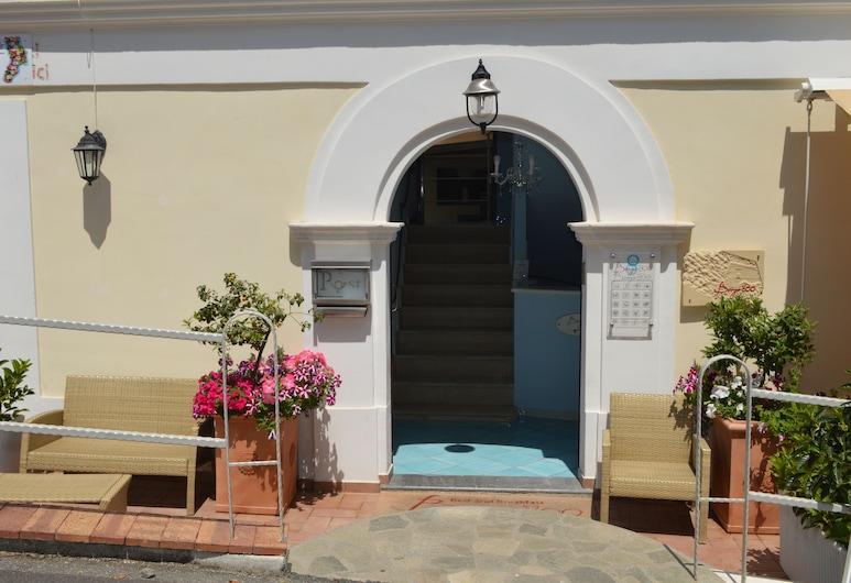 Borgo800, San Nicola Arcella, Hoteleingang