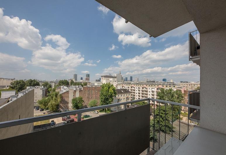 ShortStayPoland Mokotowska (B60), Warszawa, Lägenhet Comfort - 1 sovrum - balkong, Balkong