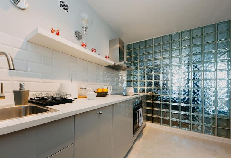 ShortStayPoland Mokotowska (B60), Varšava, Komforta dzīvokļnumurs, viena guļamistaba, balkons, Privāta virtuve