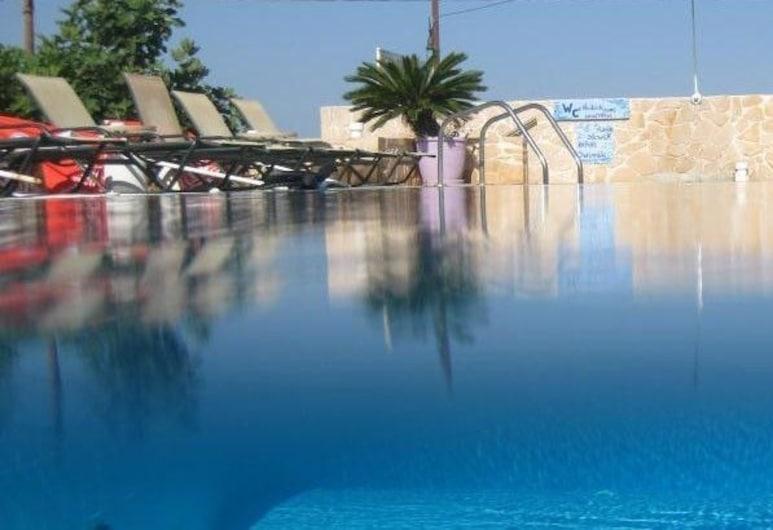 Hotel Milos, Agistri, Lauko baseinas