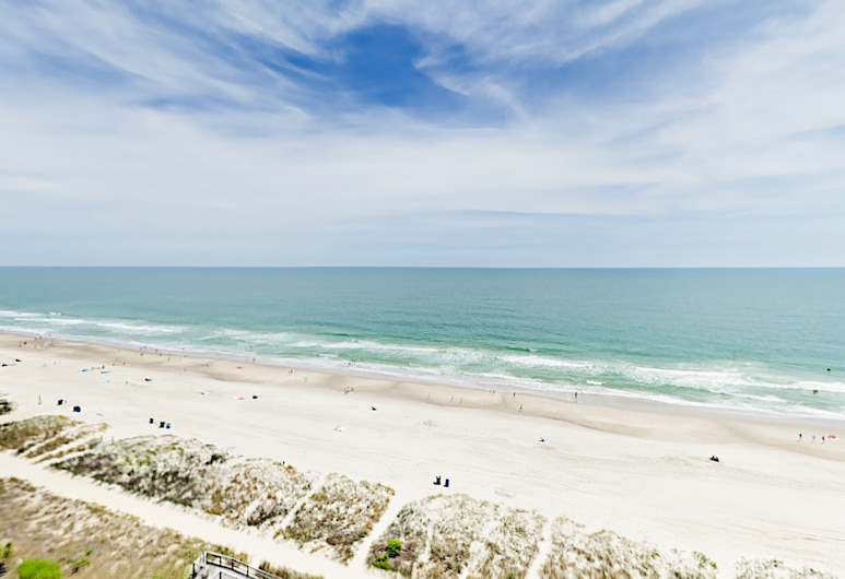 Beachfront 2br W/ Pool, Spa & Lazy River! 2 Bedroom Condo, Myrtle Beach, Appart'hôtel, 2 chambres, Plage