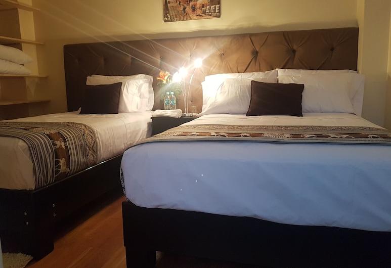 Hotel Las Quenas, Cusco, Deluxe-dobbeltværelse - privat badeværelse, Værelse