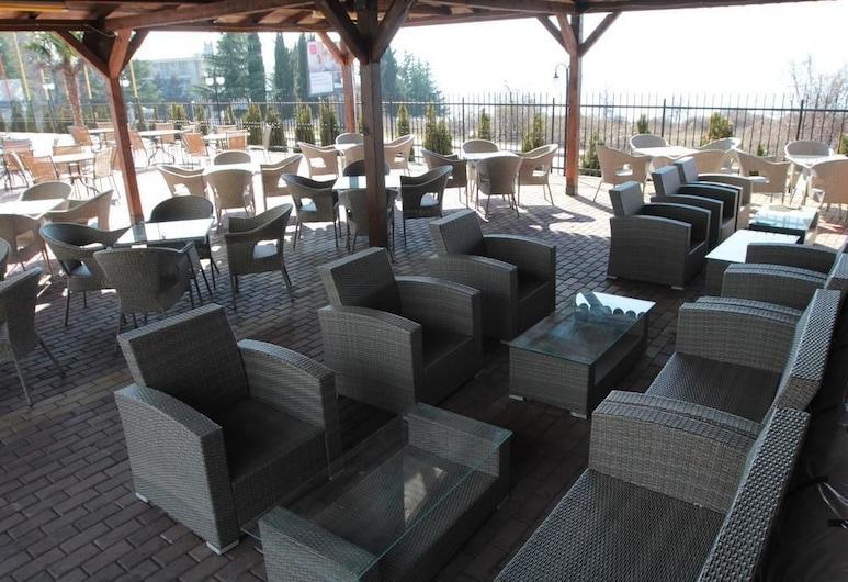 Prestol Hotel, Ohrid, ลานระเบียง/นอกชาน