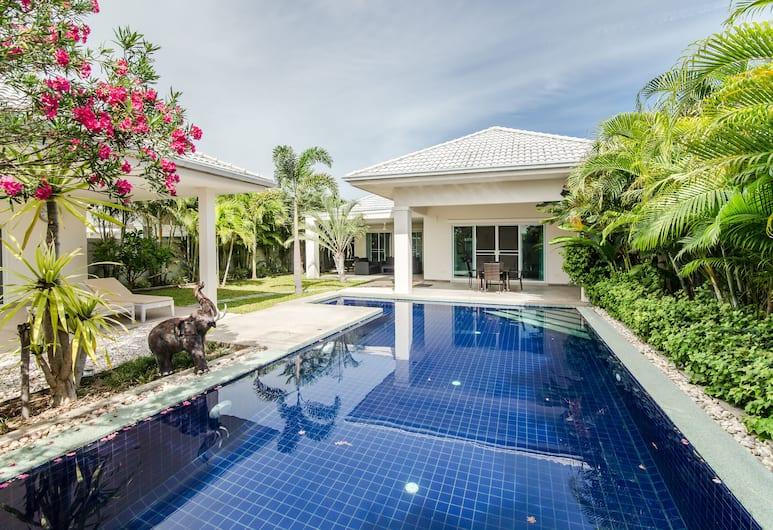 華欣 L53 3 房泳池別墅酒店, Hua Hin, 室外泳池