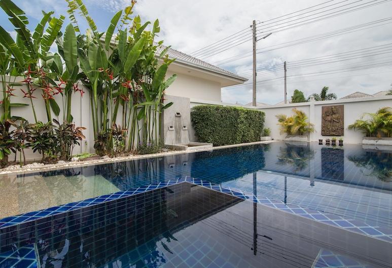 L28 4 房私人泳池別墅酒店, Hua Hin, 室外泳池