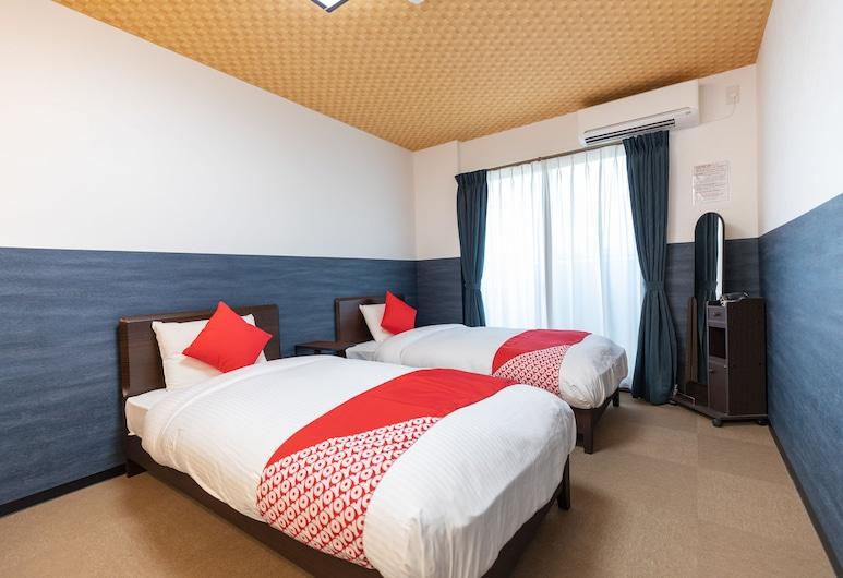 OYO Hotel Kyogura Kyoto Nijo, Kyoto, Twin Room, Non Smoking, Guest Room