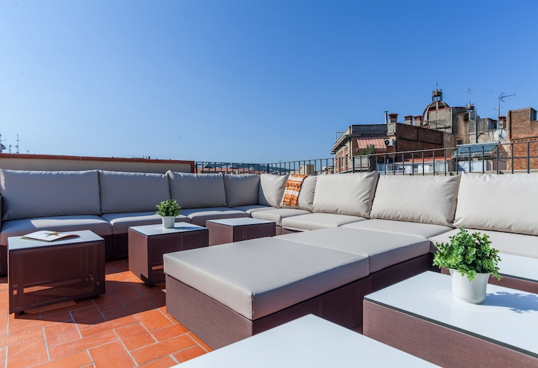 Aparteasy Deluxe apartments, Barcelona, Terrace/Patio