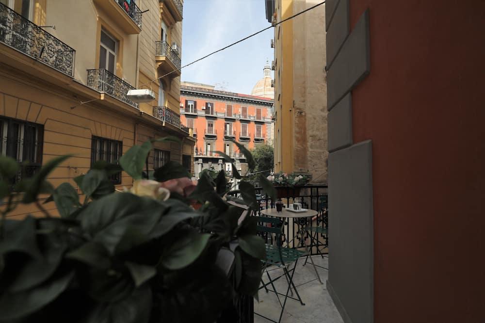 Pokój dwuosobowy typu Deluxe, balkon - Z widokiem na balkon
