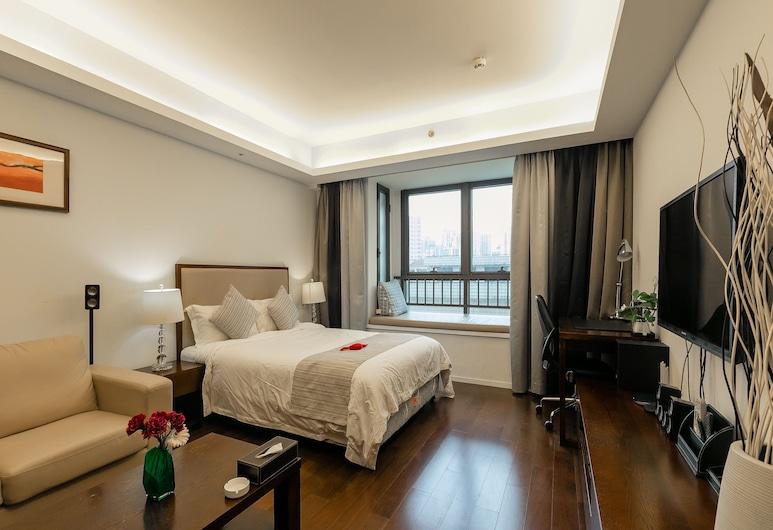 寓家服務公寓普善路店, 上海市, 豪華房, 客房