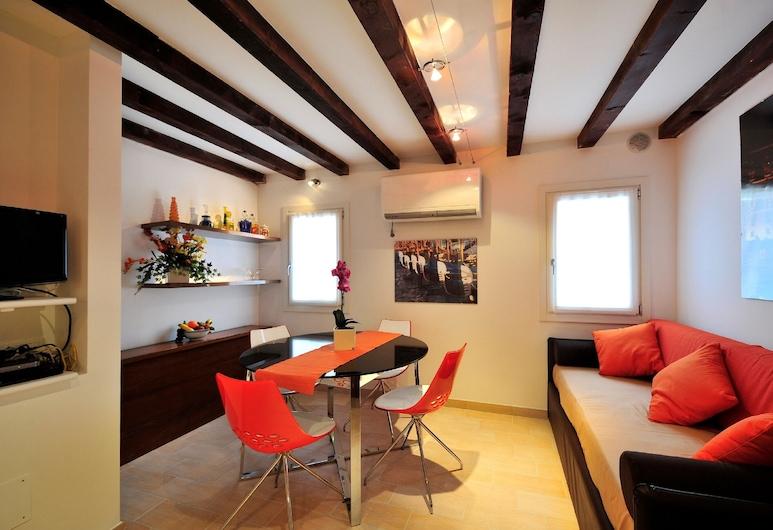 Creme Caramel, Venezia, Appartamento, 1 camera da letto, Area soggiorno