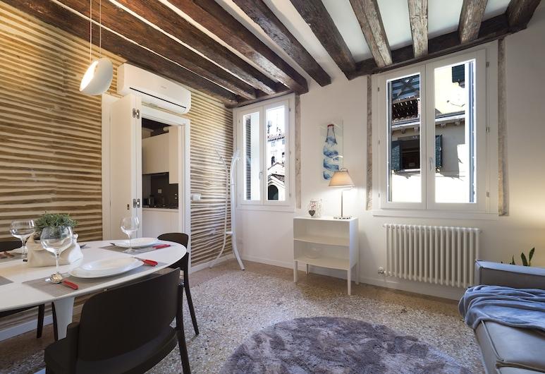 ماجيستك ريالتو هاوس, البندقية, شقة - ٣ غرف نوم, منطقة المعيشة