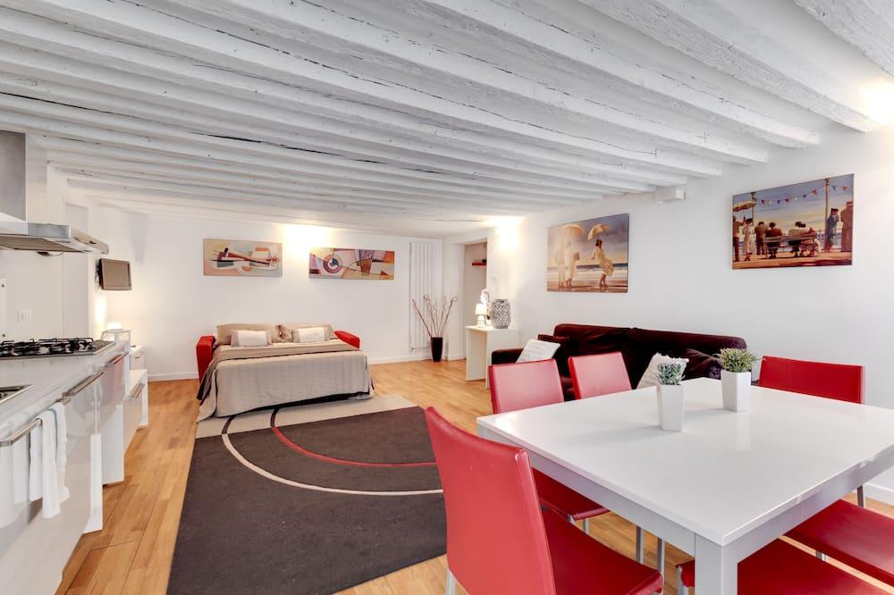 apartman, 2 hálószobával - Étkezés a szobában