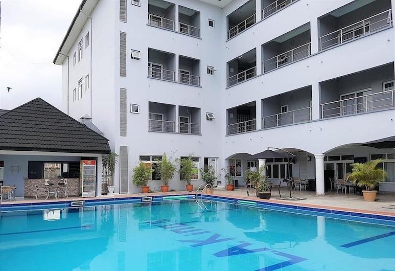 洛杉磯國王哈科特港邦酒店, 哈科特港, 室外泳池