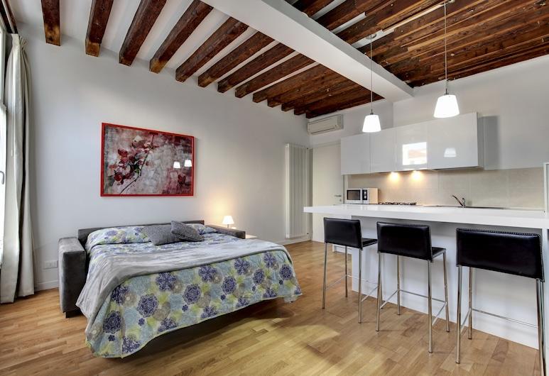威尼斯花園酒店, 威尼斯, 公寓, 1 間臥室, 客廳