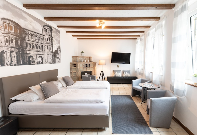 Hotel Porta Nigra, Trèves, Appartement Classique, Chambre