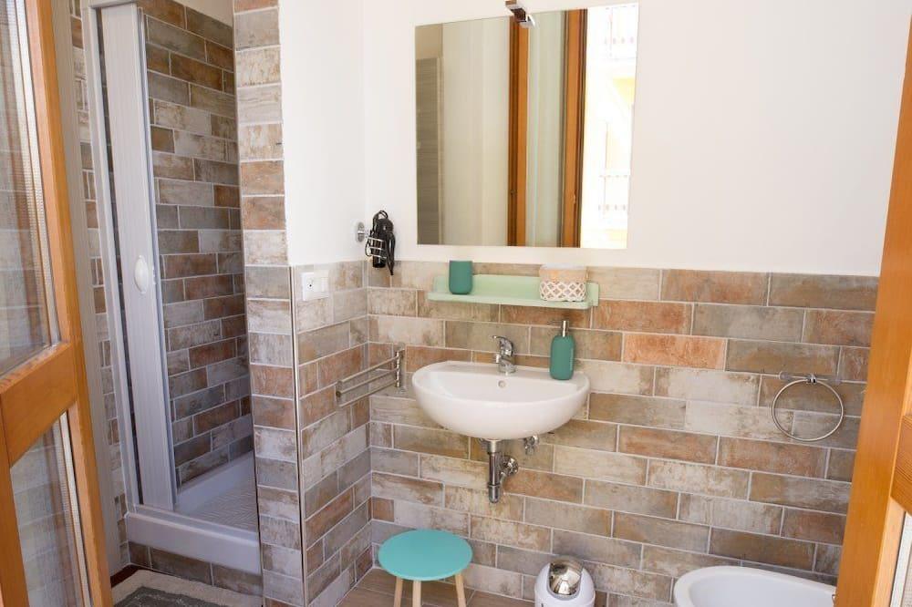 Pokój dla 4 osób (Blu) - Łazienka