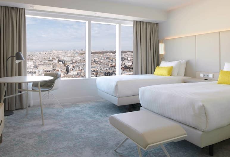 Courtyard by  Marriott Paris Gare de Lyon, Paris, Room, 2 Single Beds, View, Guest Room