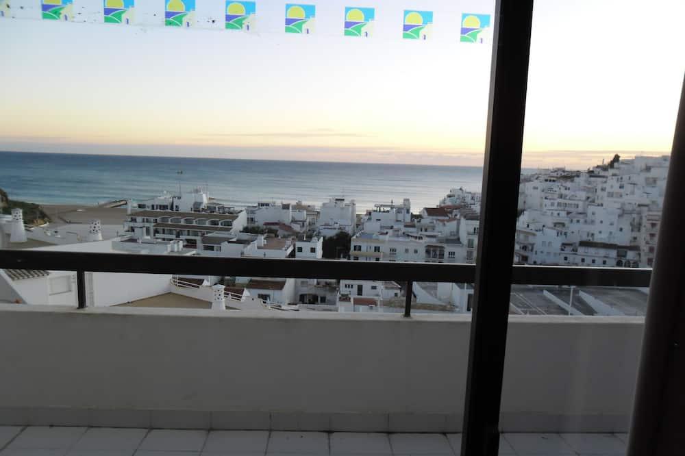 Leilighet, 1 soverom, balkong, utsikt mot sjø (51) - Balkong