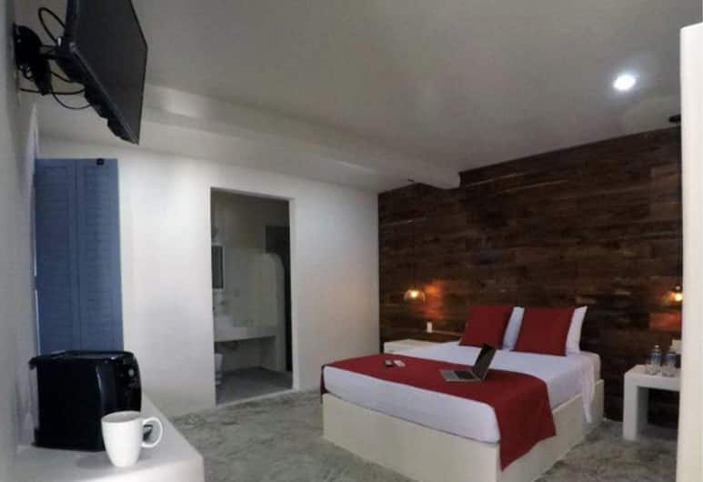 Villa Balú, Bacalar, Suite Junior, bagno privato, al piano terra, Camera