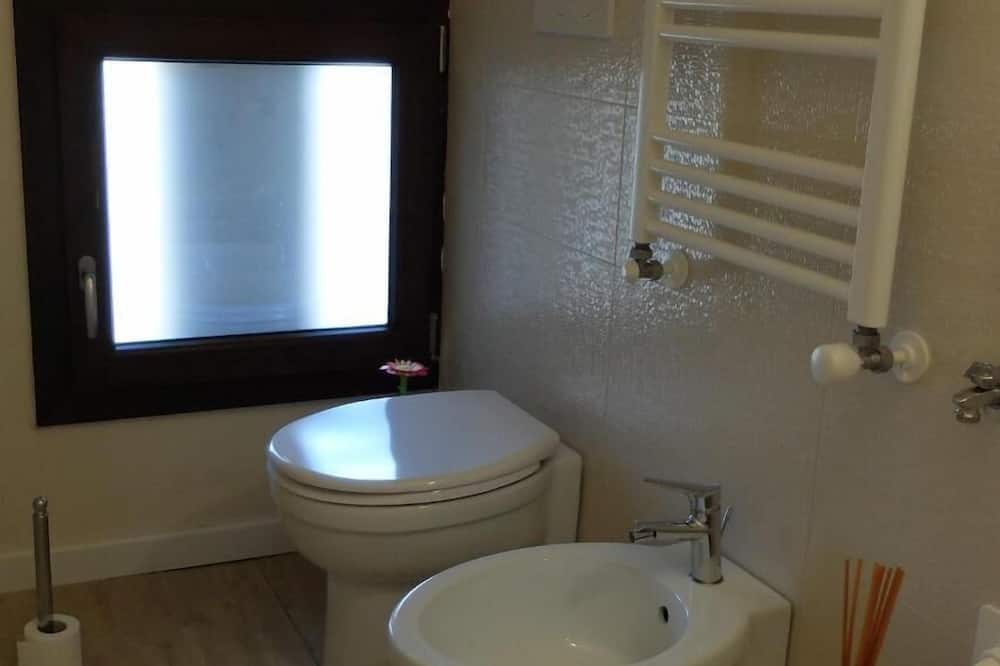 Chambre avec lits jumeaux, 2 lits une place, non-fumeurs - Salle de bain