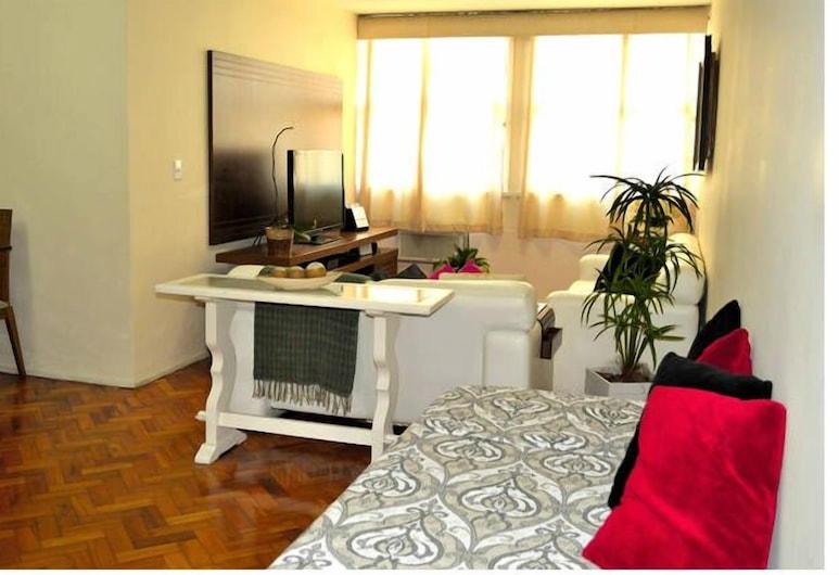 아타우우푸 702 에스타디아 카리오카, 리우데자네이루, 아파트, 거실 공간