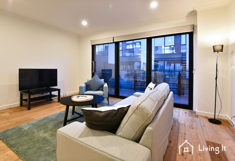 Tomkins Townhouse, Port Melbourne, Townhome, 3 Bedrooms, Non Smoking, Living Room