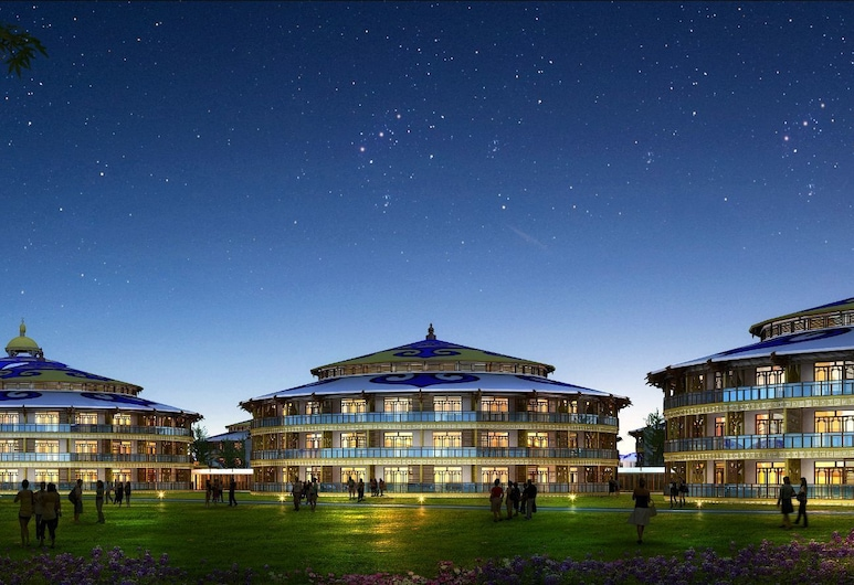 Yu Dao Kou Arcadia Prairie Resort, Chengde, Fachada do Hotel