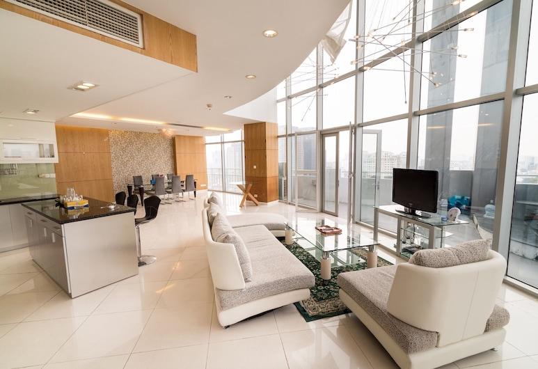 Luxury Penthouse 4BRS City Centre, Ho Chi Minh-Stad