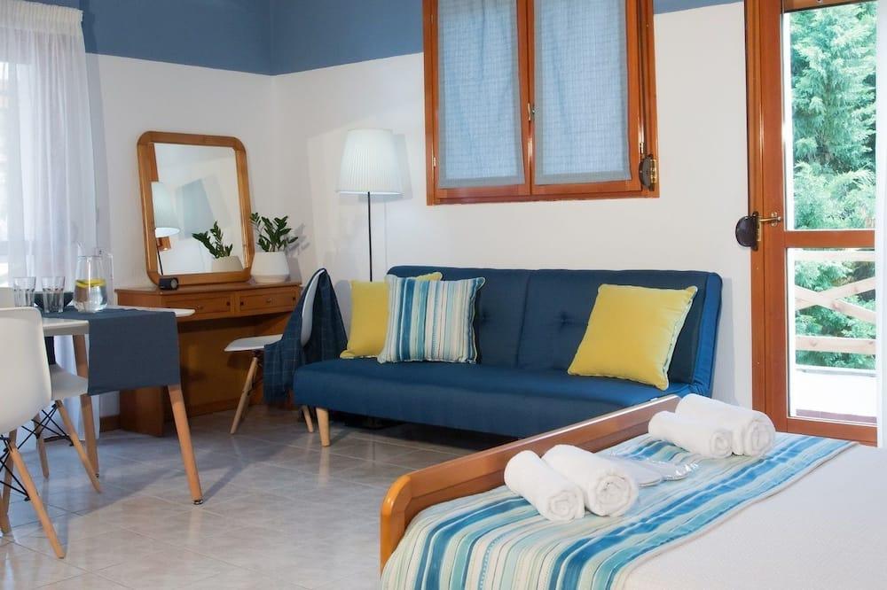 شقة إستديو عائلية - منطقة المعيشة