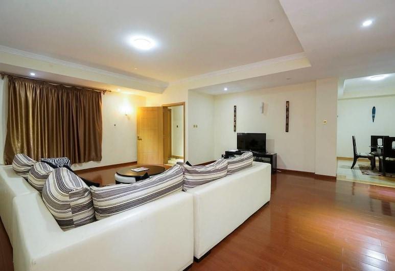 Apt 31 Geomara Executive 2 bdroom Kilimani , ניירובי, חדר זוגי, 2 חדרי שינה, אזור מגורים