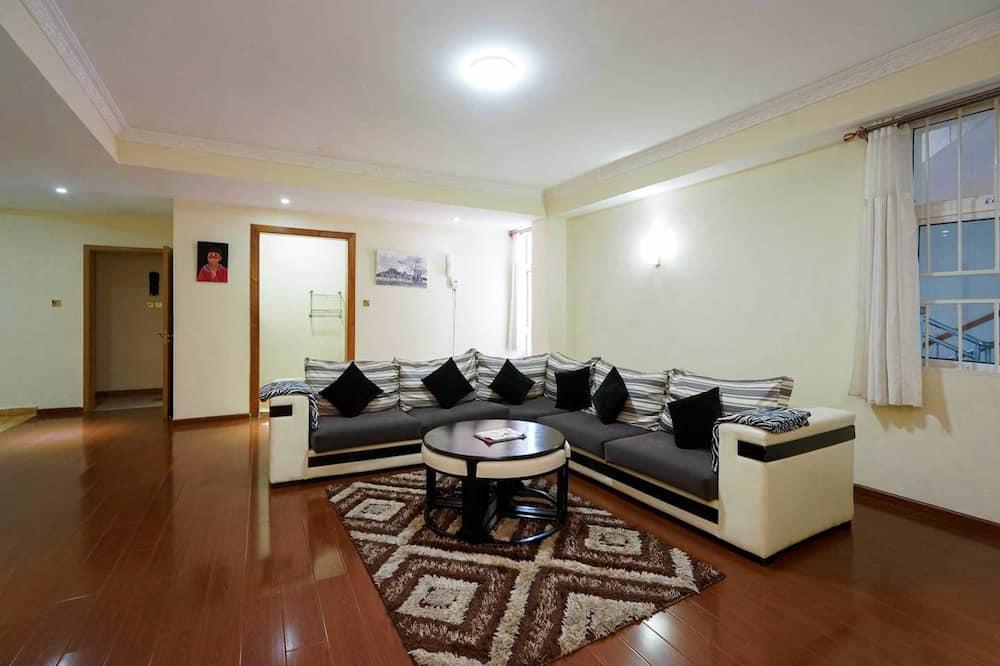 Double Room, 2 Bedrooms - Living Area
