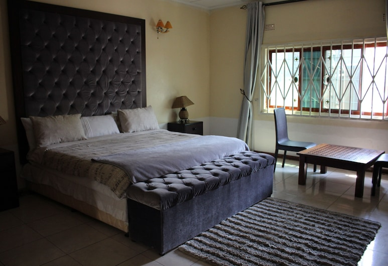 Rugems Executive Lodge, Lusaka, Family Triple Room, View from room