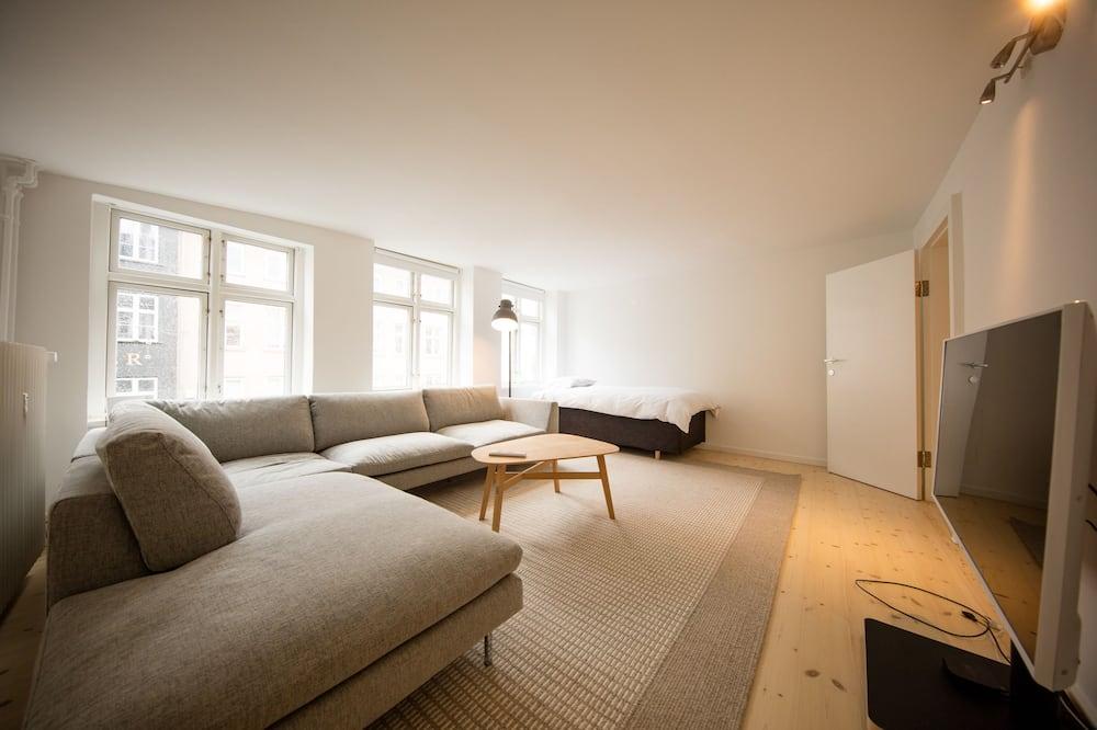 奢華公寓, 3 間臥室 - 客廳