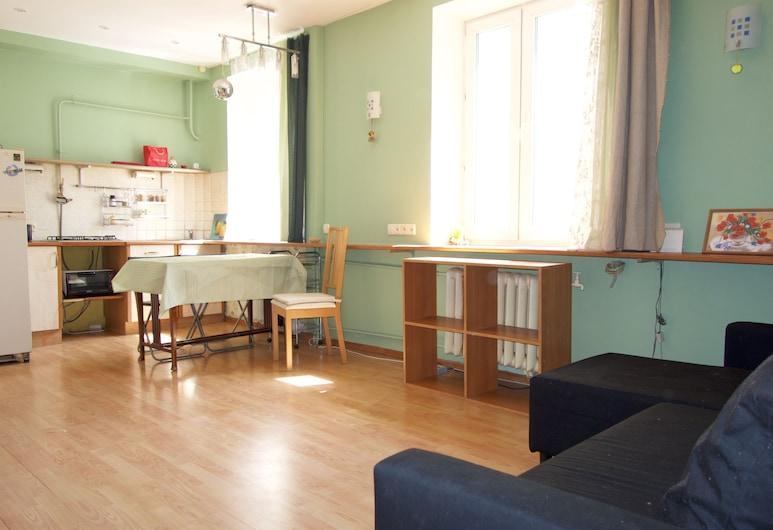LUXKV Apartment on Staropimenovskiy 4, Maskva, Apartamentai, Svetainės zona