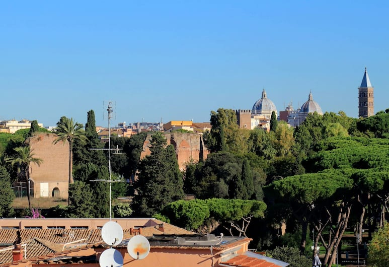 Rome Accommodation - Celimontana, Rome, Appartement, Vue de la chambre