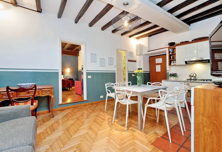 Rome Accommodation - Borromini, Rom, Apartment, Wohnbereich