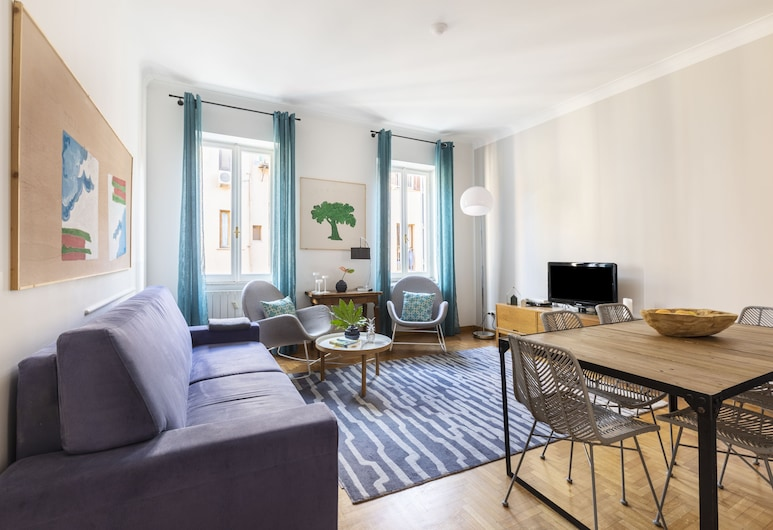 Rome Accommodation - Condotti I, Rome, Appartement, 3 slaapkamers, Woonkamer